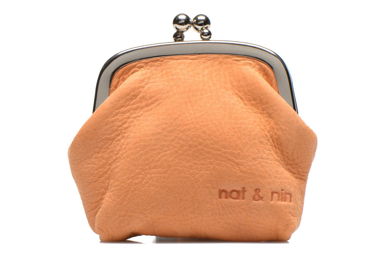 Petite Maroquinerie Nat & Nin Bibi Orange vue détail/paire