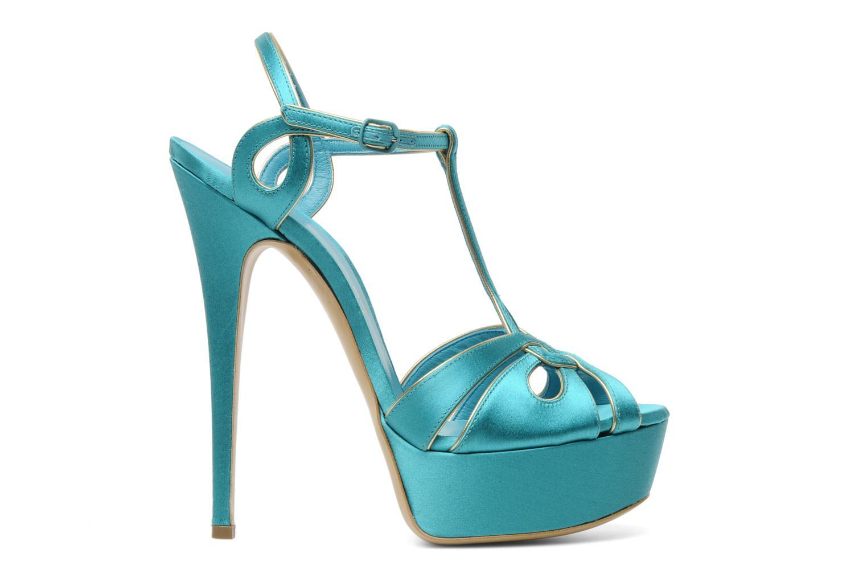 Sandalen Casadei Bibiana blau ansicht von hinten