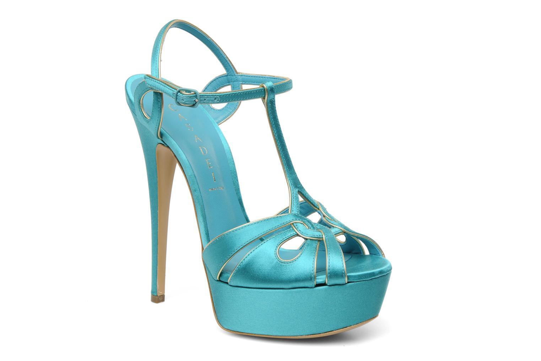 Sandalen Casadei Bibiana blau detaillierte ansicht/modell