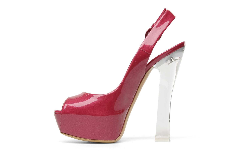 Sandales et nu-pieds Casadei Flaminia Rose vue face