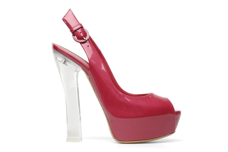 Sandales et nu-pieds Casadei Flaminia Rose vue derrière