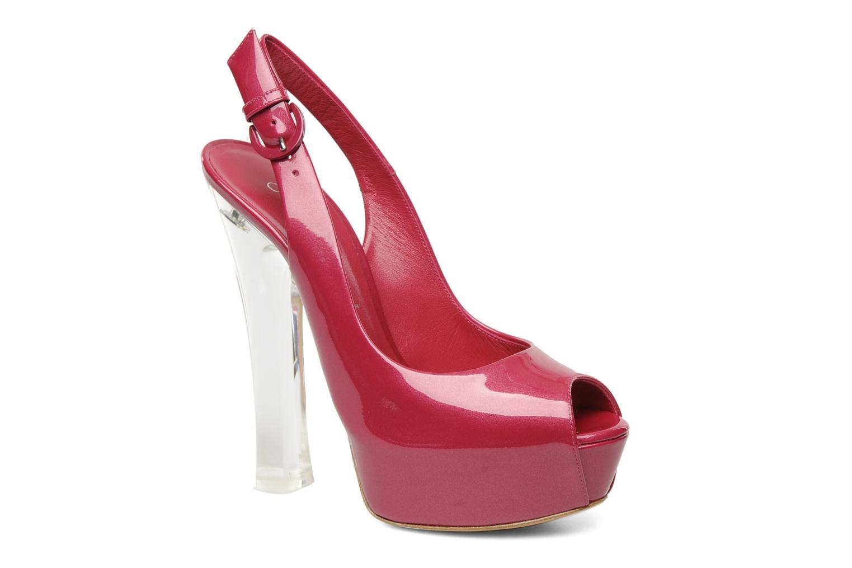 Sandales et nu-pieds Casadei Flaminia Rose vue détail/paire