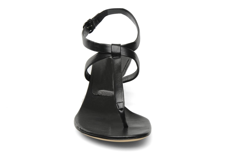 Sandales et nu-pieds Casadei Eugenia Noir vue portées chaussures