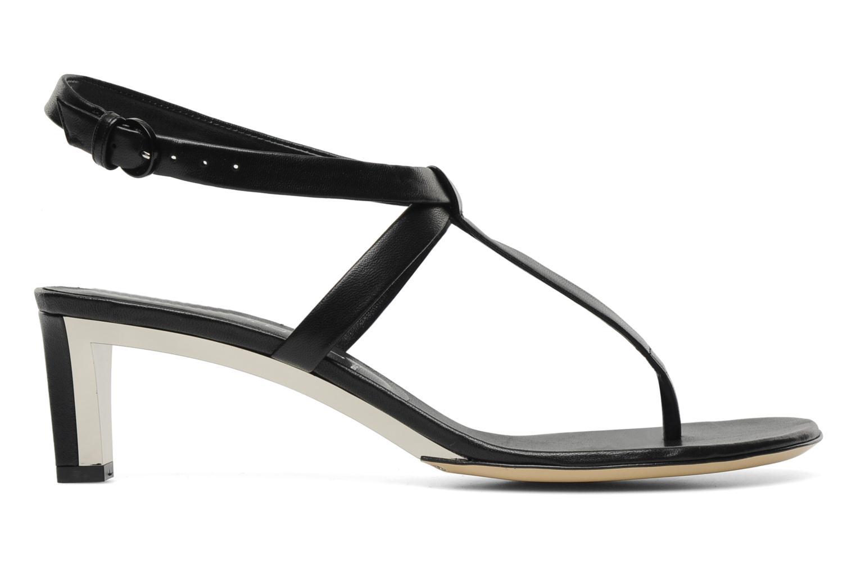 Sandales et nu-pieds Casadei Eugenia Noir vue derrière