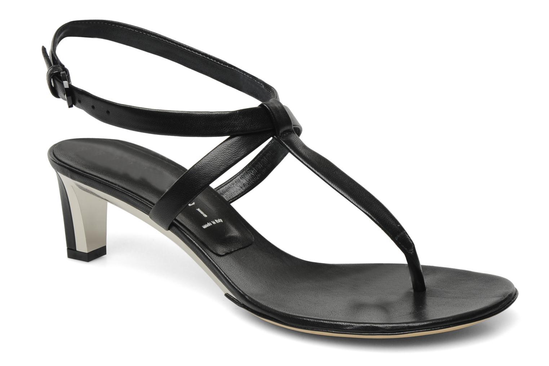 Sandales et nu-pieds Casadei Eugenia Noir vue détail/paire