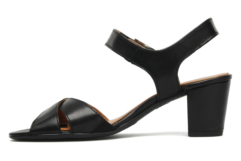 Sandales et nu-pieds Ara BIAR-S Noir vue face