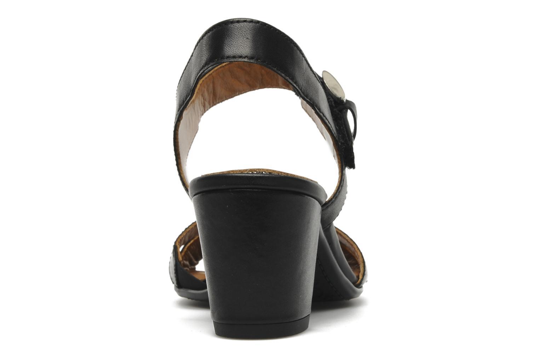 Sandales et nu-pieds Ara BIAR-S Noir vue droite