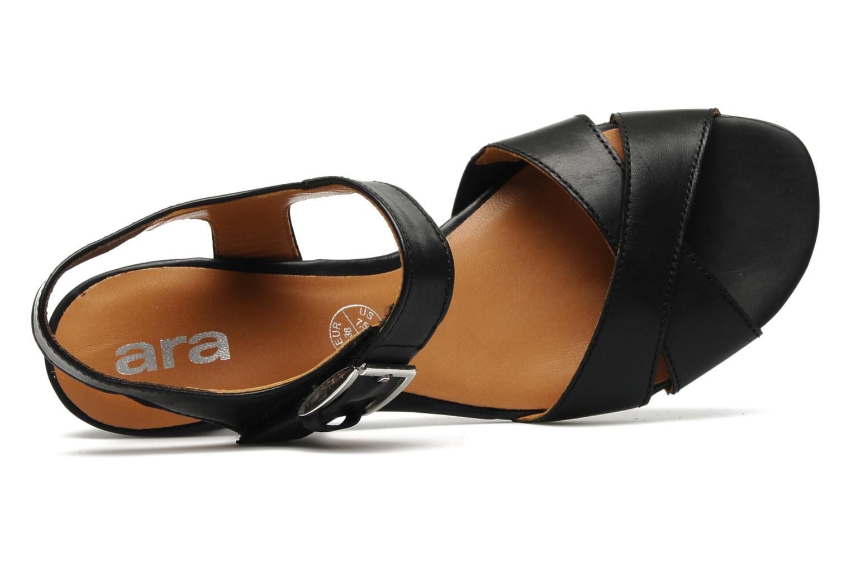 Sandales et nu-pieds Ara BIAR-S Noir vue gauche