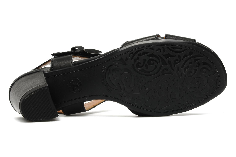 Sandales et nu-pieds Ara BIAR-S Noir vue haut