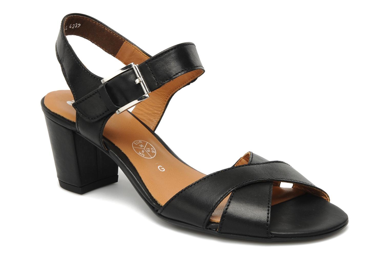 Sandales et nu-pieds Ara BIAR-S Noir vue détail/paire