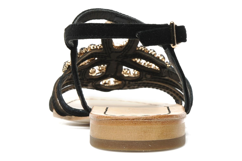 Sandales et nu-pieds Geox D SHANA B Noir vue droite