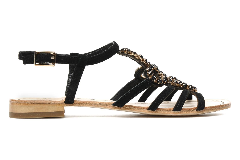 Sandales et nu-pieds Geox D SHANA B Noir vue derrière