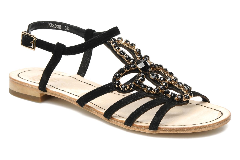 Sandales et nu-pieds Geox D SHANA B Noir vue détail/paire