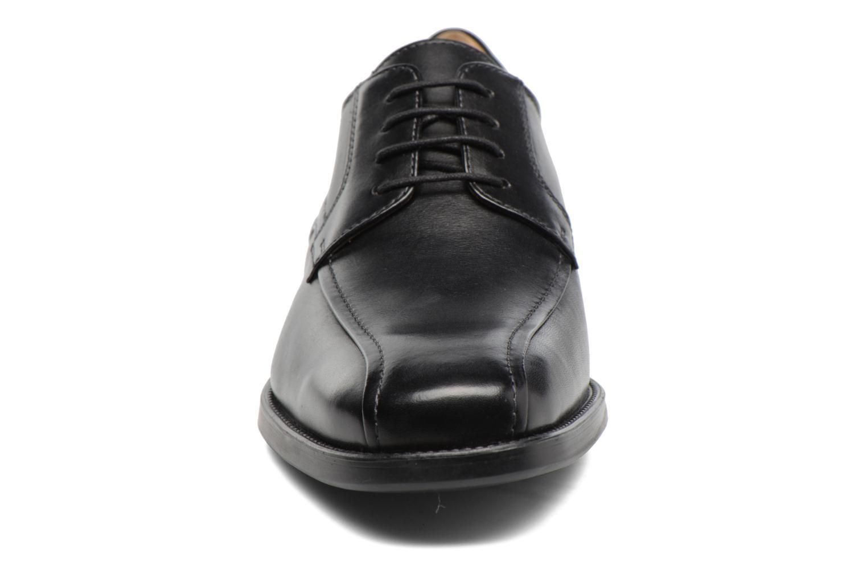 Schnürschuhe Geox U FEDERICO W U2257W schwarz schuhe getragen