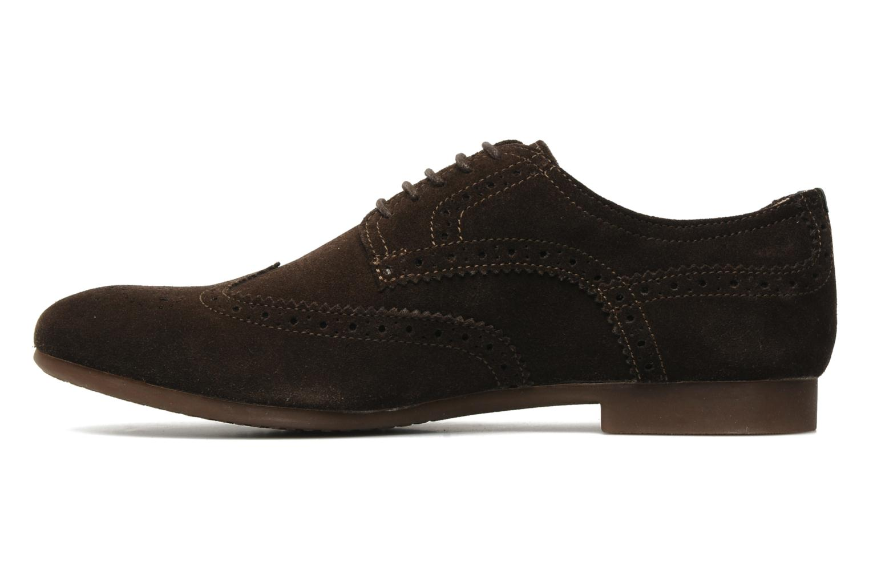 Chaussures à lacets Geox U YALE M Marron vue face