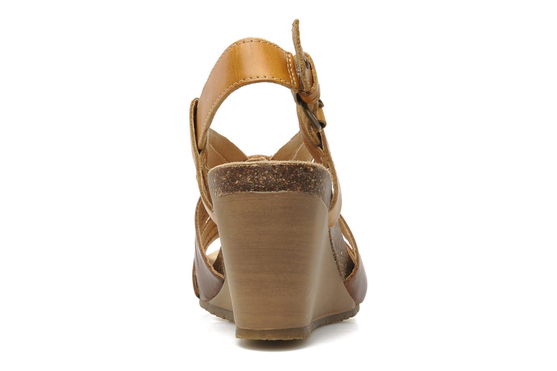 Sandales et nu-pieds Pikolinos Benissa 9320 Marron vue droite