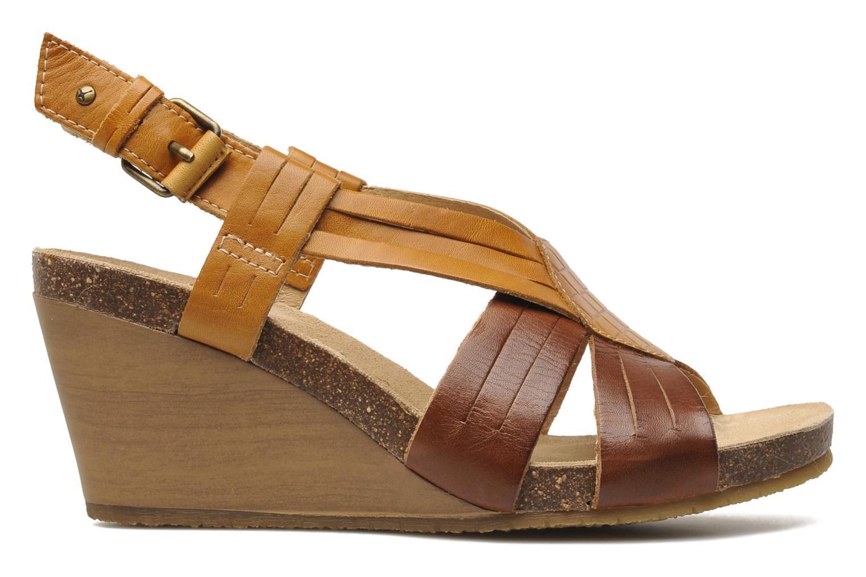 Sandales et nu-pieds Pikolinos Benissa 9320 Marron vue derrière