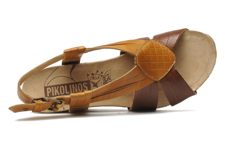 Sandales et nu-pieds Pikolinos Benissa 9320 Marron vue gauche