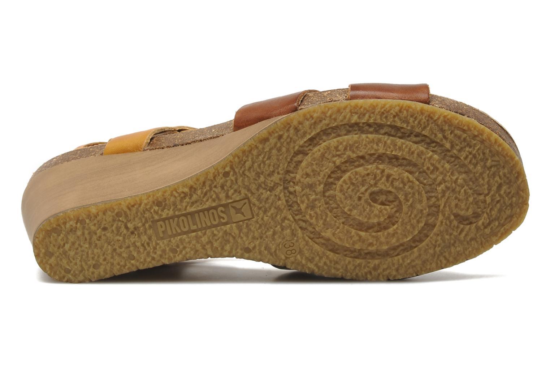 Sandales et nu-pieds Pikolinos Benissa 9320 Marron vue haut