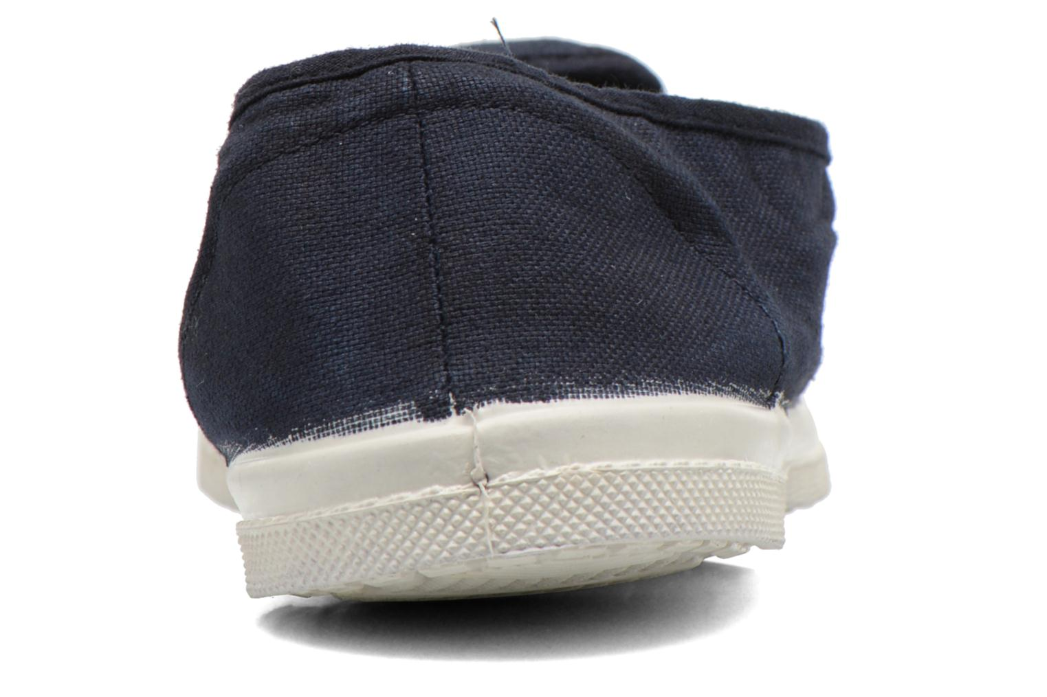 Trainers Bensimon Tennis Tommy F Blue view from the right
