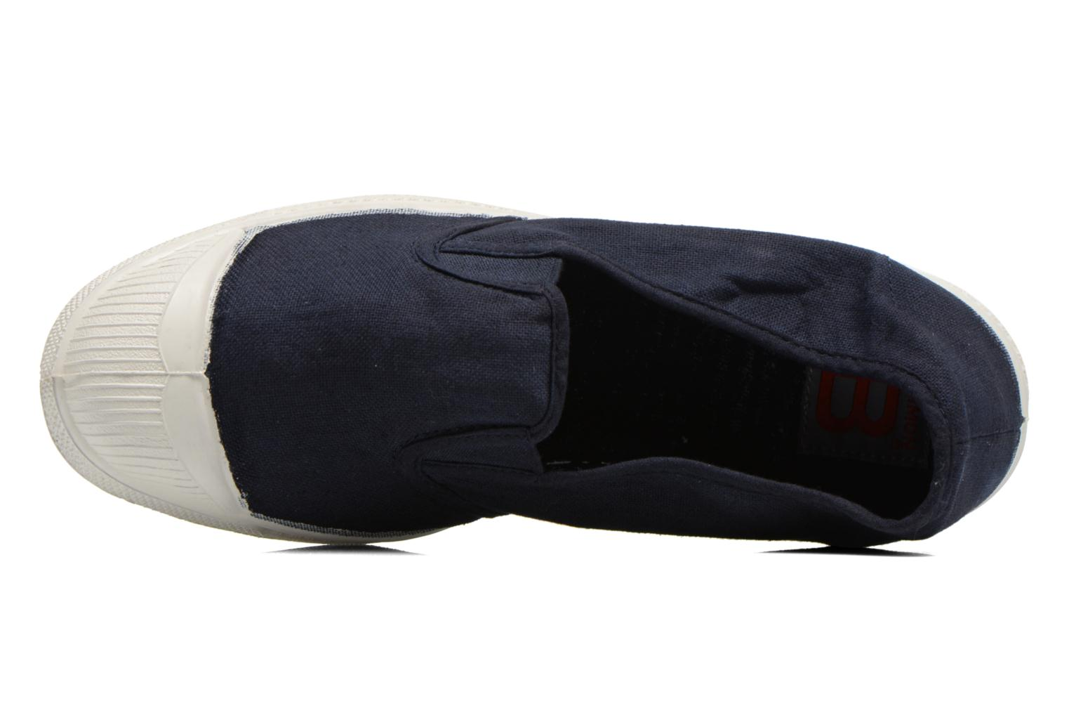 Trainers Bensimon Tennis Tommy F Blue view from the left