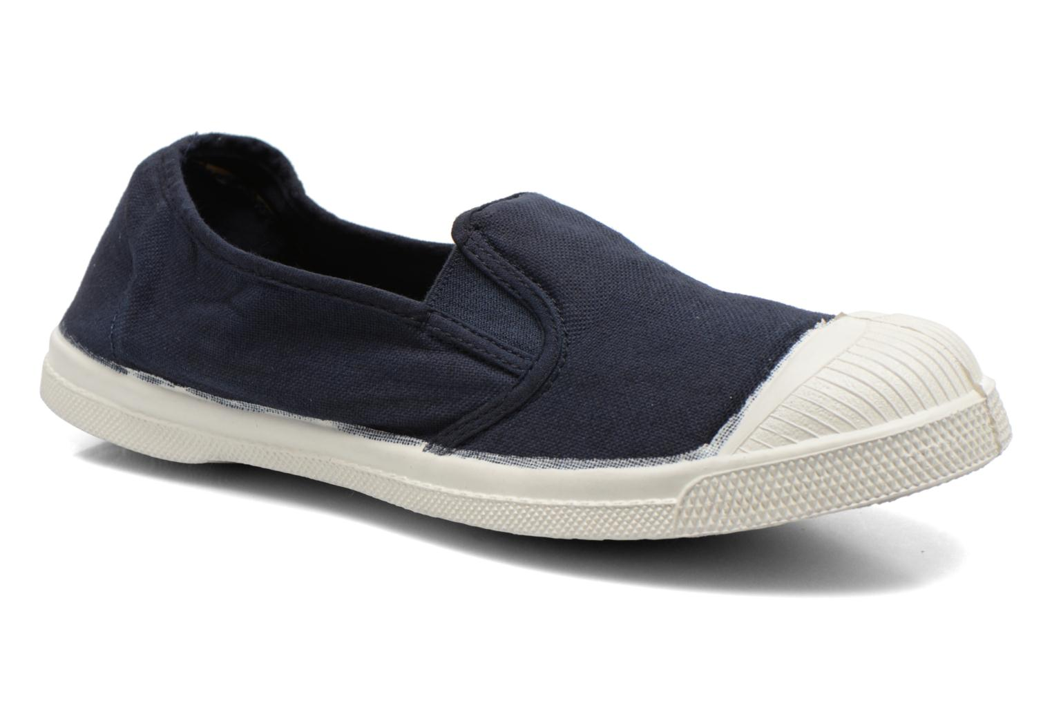 Trainers Bensimon Tennis Tommy F Blue detailed view/ Pair view