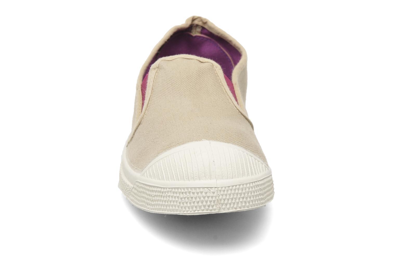 Sneaker Bensimon Tennis Tommy F beige schuhe getragen