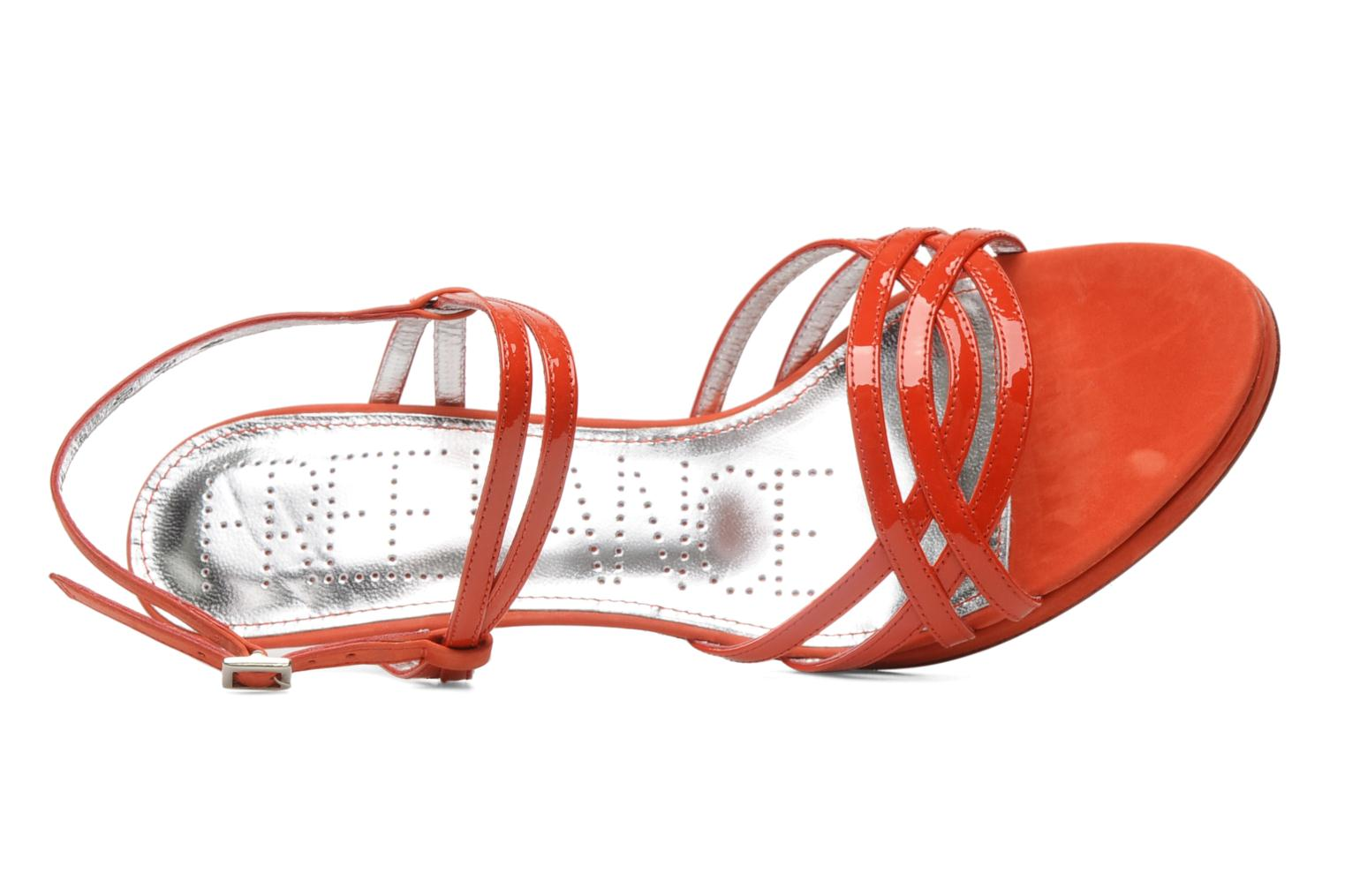 Hope 4 ritter sandal Vernis Soft/Kathy Rouge/Rouge