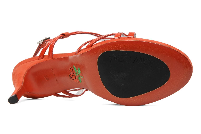 Sandalen Free Lance Hope 4 ritter sandal Rood boven