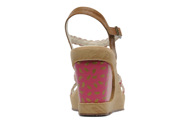 Sandales et nu-pieds Skechers Peek A Boo 38229 Rose vue droite