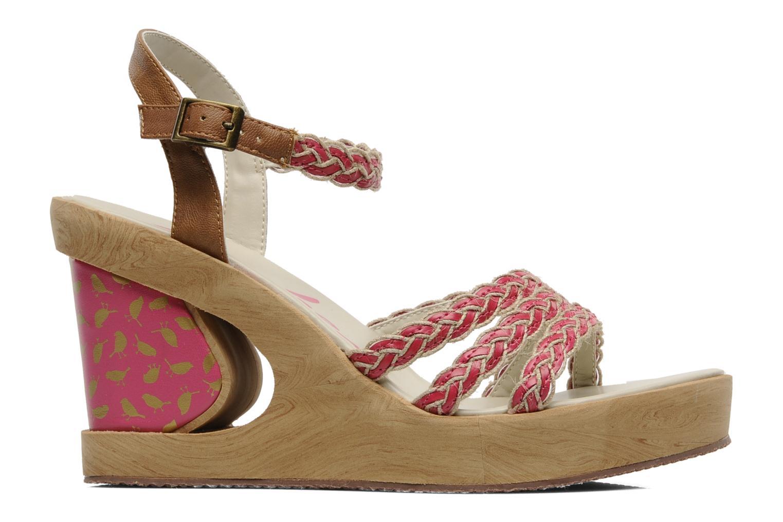 Sandales et nu-pieds Skechers Peek A Boo 38229 Rose vue derrière