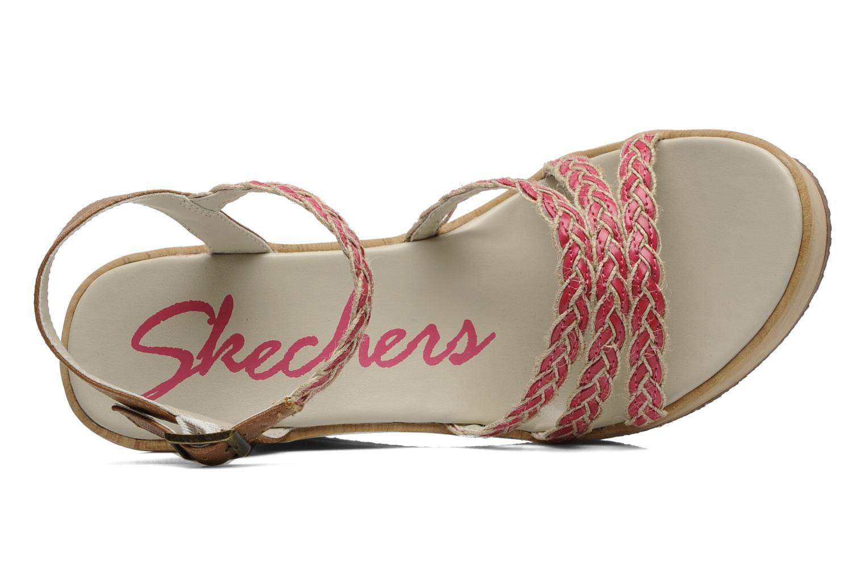 Sandales et nu-pieds Skechers Peek A Boo 38229 Rose vue gauche