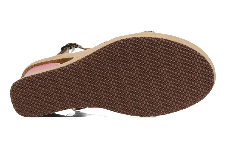 Sandales et nu-pieds Skechers Peek A Boo 38229 Rose vue haut