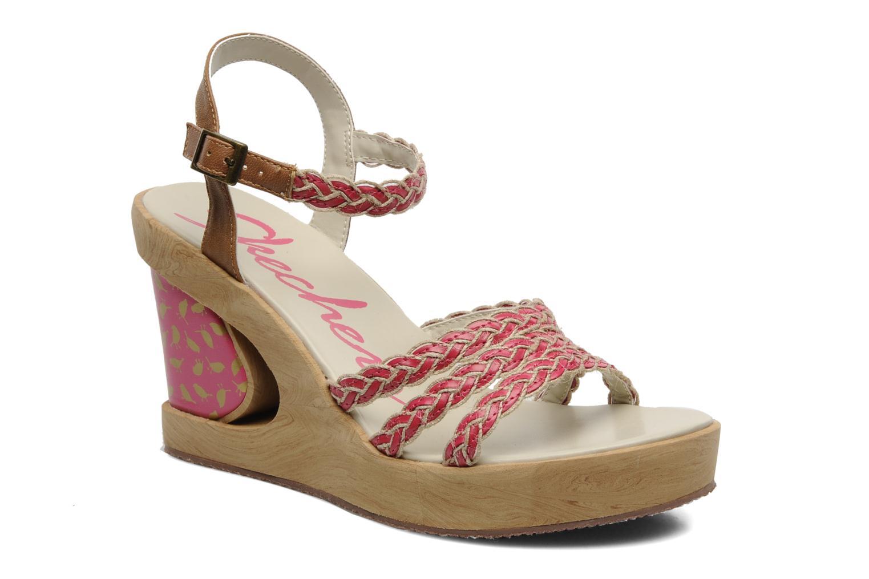 Sandales et nu-pieds Skechers Peek A Boo 38229 Rose vue détail/paire