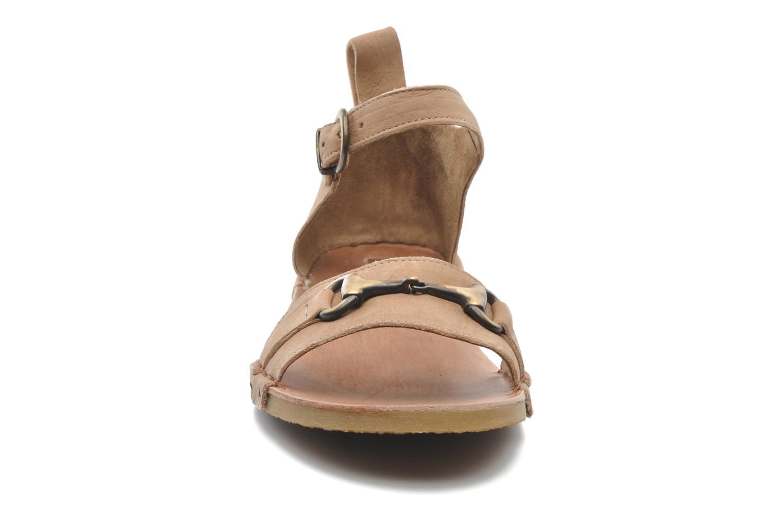 Sandales et nu-pieds Dkode Amy Beige vue portées chaussures