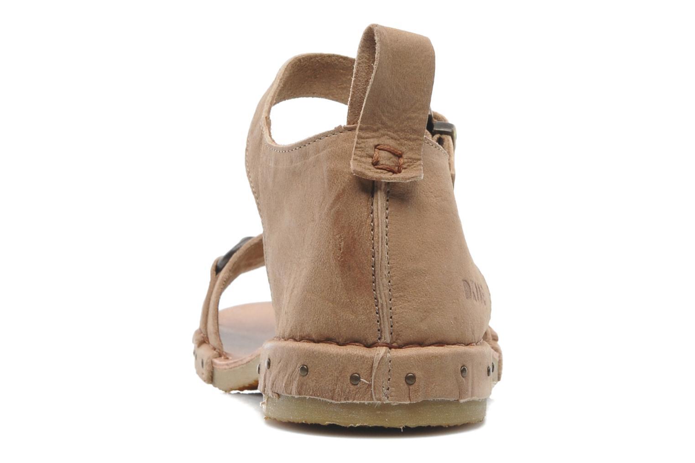 Sandales et nu-pieds Dkode Amy Beige vue droite