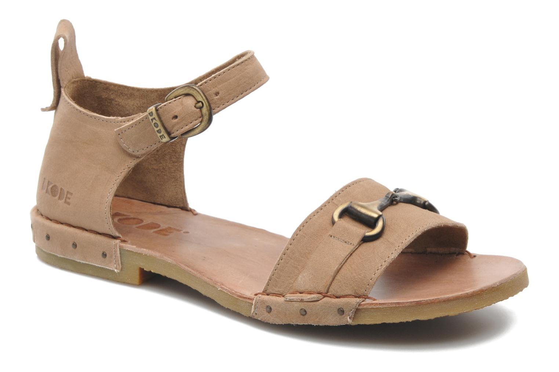 Sandales et nu-pieds Dkode Amy Beige vue détail/paire