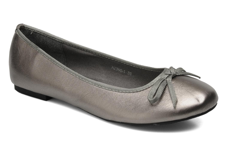 Ballet pumps Eclipse Ballerine Classique Grey detailed view/ Pair view