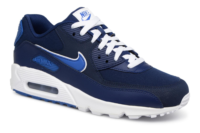 los angeles 19876 7e858 Nike Nike Air Max 90 Essential (Bleu) - Baskets chez Sarenza (199040)