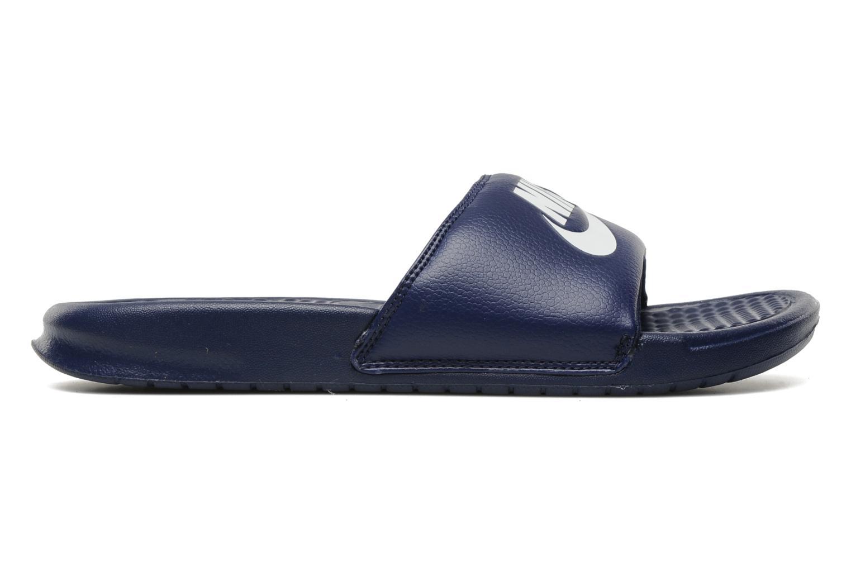 Sandales et nu-pieds Nike Benassi Jdi Bleu vue derrière