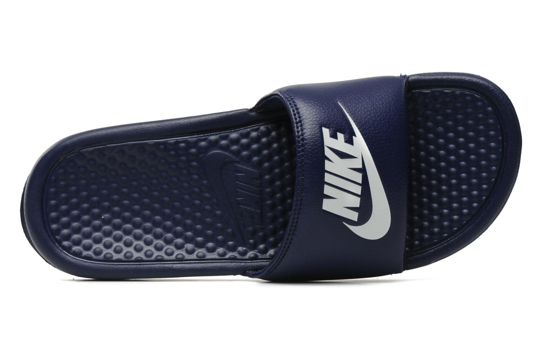 Sandaler Nike Benassi Jdi Blå se fra venstre