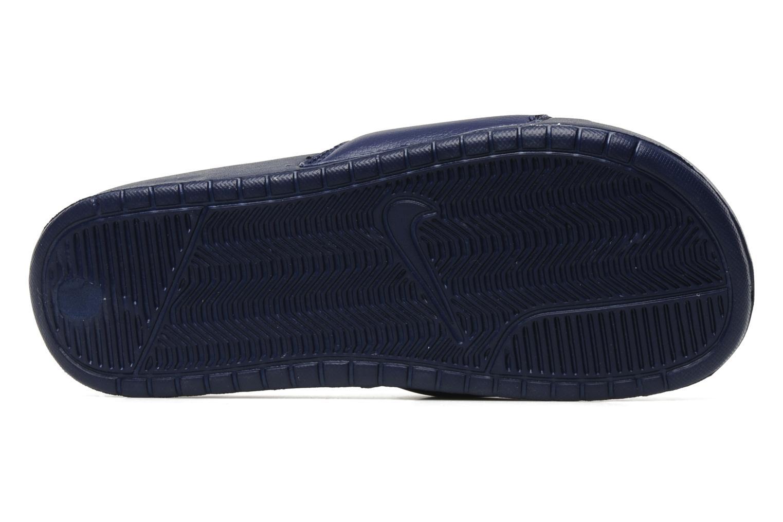 Sandales et nu-pieds Nike Benassi Jdi Bleu vue haut
