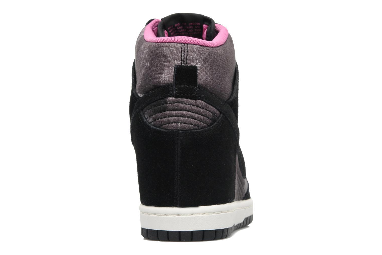 Baskets Nike Wmns Dunk Sky Hi Print Noir vue droite