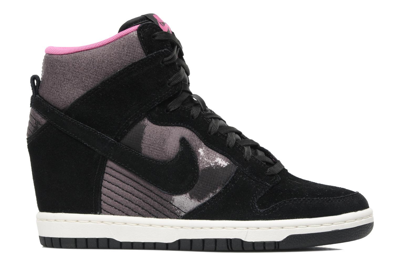 Baskets Nike Wmns Dunk Sky Hi Print Noir vue derrière
