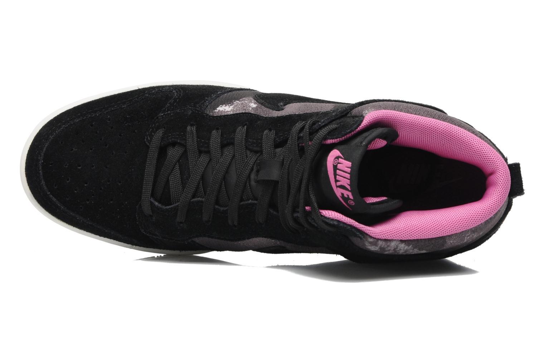 Baskets Nike Wmns Dunk Sky Hi Print Noir vue gauche