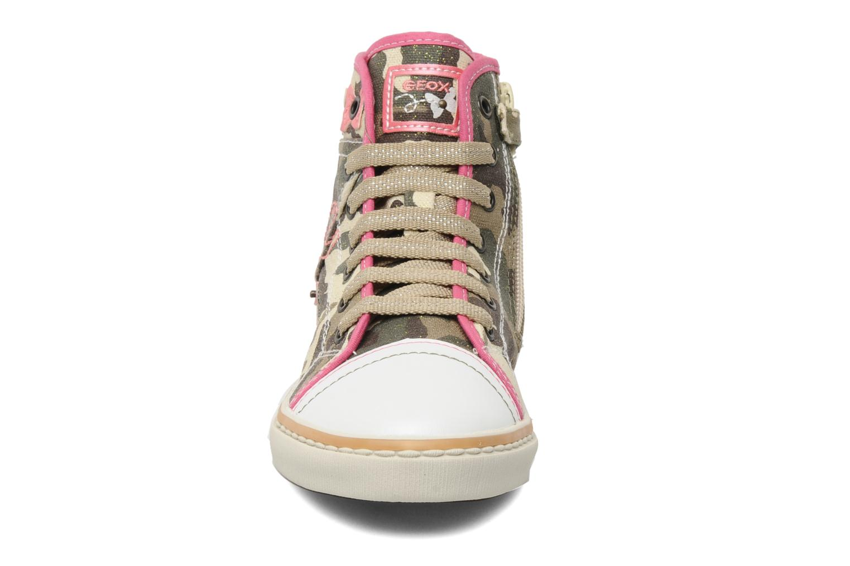 Sneaker Geox J CIAKGIRL P mehrfarbig schuhe getragen