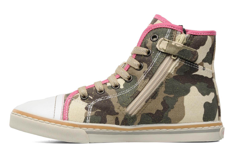 Sneaker Geox J CIAKGIRL P mehrfarbig ansicht von vorne