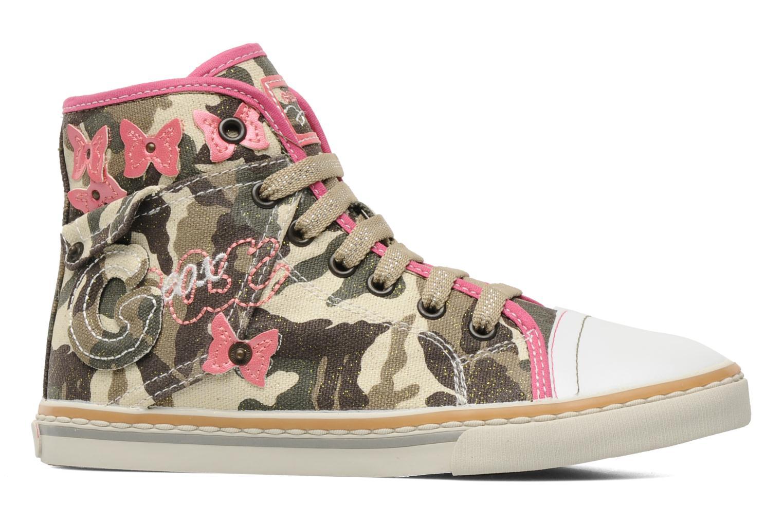 Sneaker Geox J CIAKGIRL P mehrfarbig ansicht von hinten