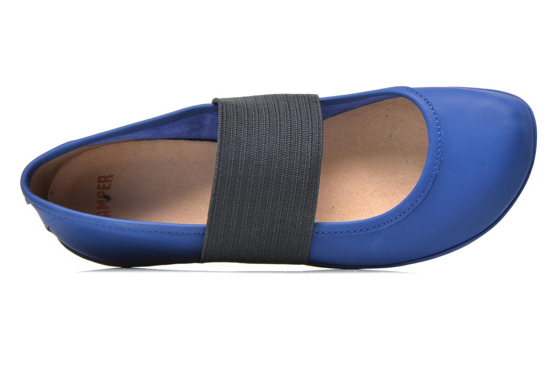 Ballerinas Camper Right Nina 21595 blau ansicht von links