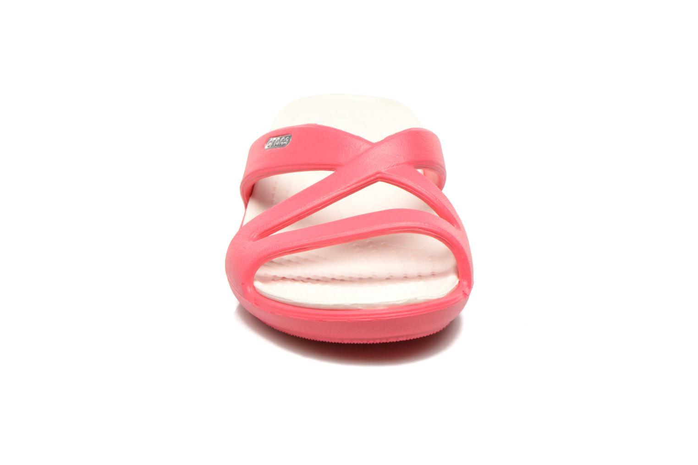 Clogs & Pantoletten Crocs Patricia 2 rot schuhe getragen